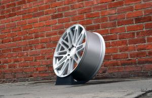 RoadForce wheels RF24  20x10  Silver Brush