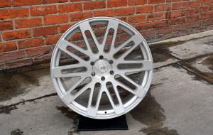 RoadForce wheels RF24  20x10 brush Silver