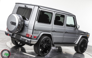 G wagon on 24x10 RoadForce RF24 Glass Black