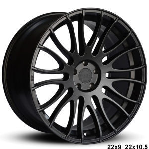 RoadForce RF007 22x9 22x10.5 Matte Black finish