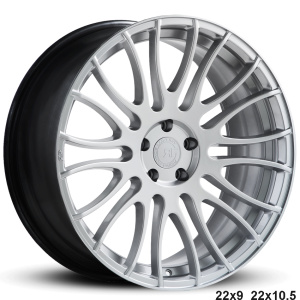 RoadForce RF007 22x9 22x10.5 Hyper Silver finish