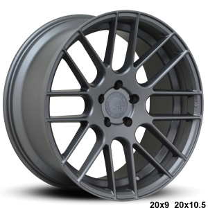 RoadForce RF008 20x9 20x10.5 Gunmetal finish