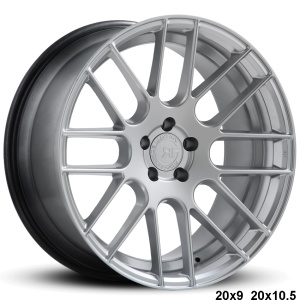 RoadForce RF008 20x9 20x10.5 Hypersilver finish concave alloy wheels