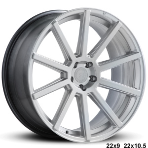 RoadForce RF10 22x9 22x10.5 Hyper Silver finish