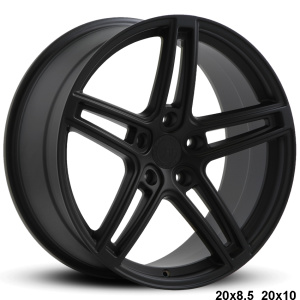 RoadForce RF5 20x8.5 20x10 Matte black finish