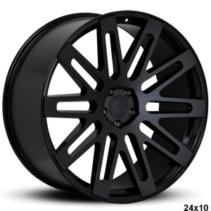 RoadForce RF24 24x10 Glass Black finish