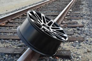 RoadForce RF24 24x10 luxury custom alloy wheels Gloss black finish