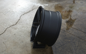 RoadForce RF5 Satin black 5x130 Porsche Audi Q7 VW wheels