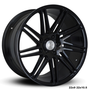 RoadForce RF11 22x9 22x10.5 Gloss Black finish