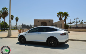 Tesla Model X on RoadForce RF15 22x9 front 22x10.5 rear