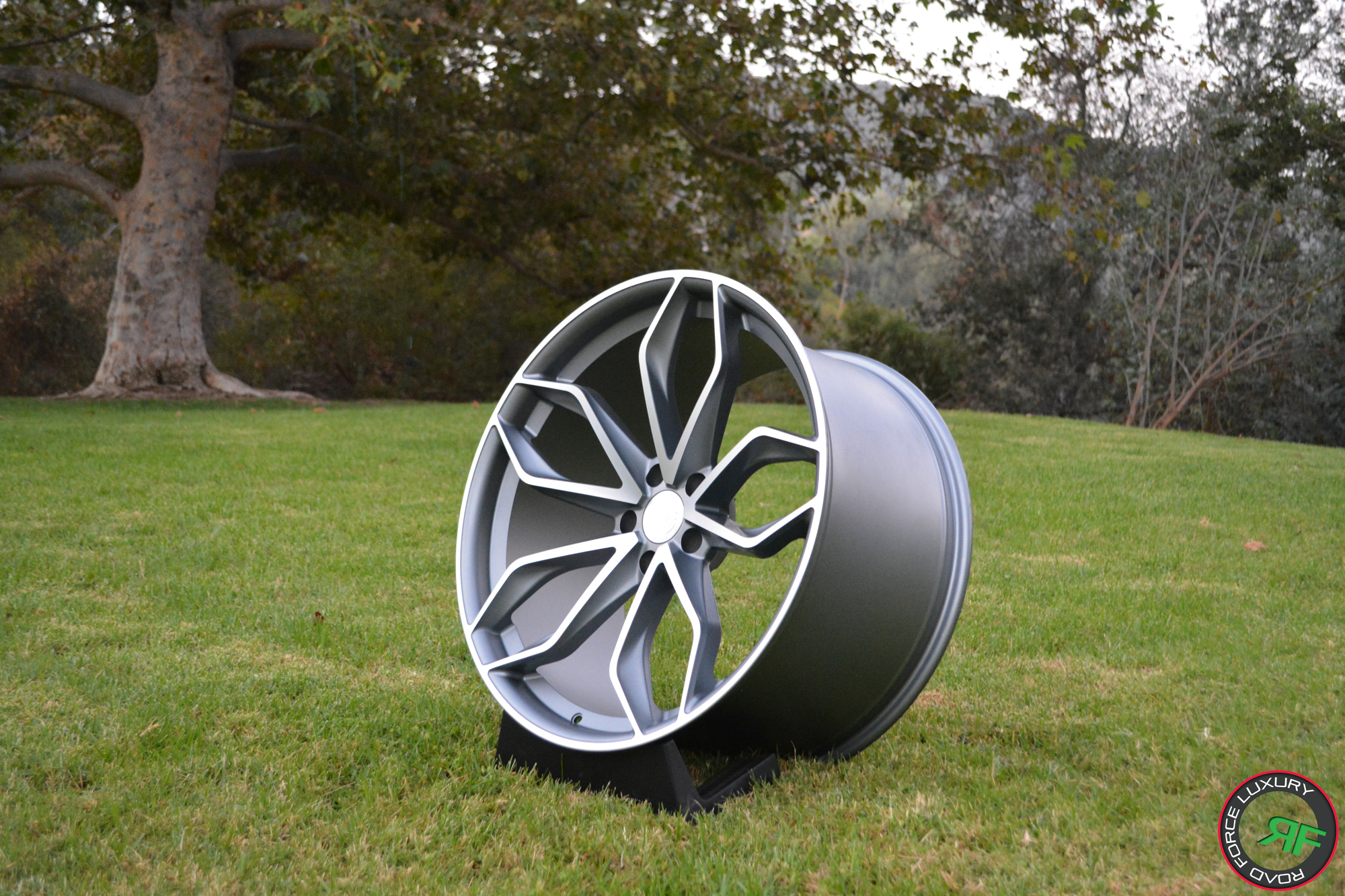 Roadforce Rf17 Custom Wheels Satin Gunmetal Machine Face